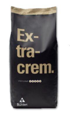 Café Burdet Extracrem 100% Robusta zrnková káva v balení 1 kg