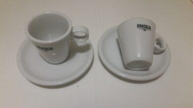 Šálek s podšálkem BRASIL