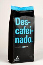Café Burdet® Descafeinado Alacant  zrna 1 kg 100% Arabika bez kofeinu-Káva bez kofeinu. Přírodní pražená zrnka kávy arabika bez kofeinu 100% Arabica praná z Brazílie
